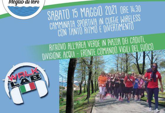 PISA – SABATO 15 MAGGIO 2021 – MEGLIO DI IERI CON WALKLAB